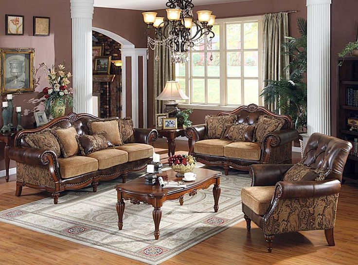 Amazing Who Says The Classic Living Room Furniture Is A Grandmau0027s Style? We Have 20  Ways