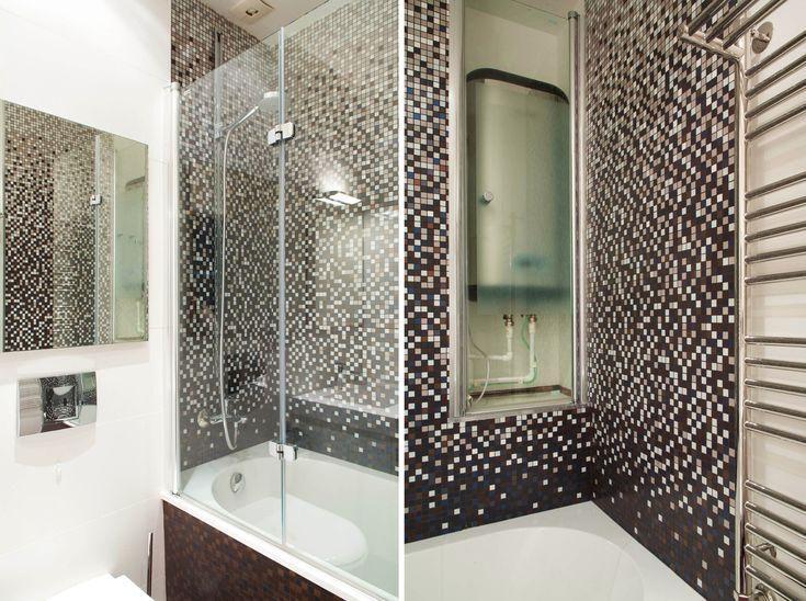 Интерьер ванной комнаты автор: Пономаренко Екатерина archfactory@bk.ru
