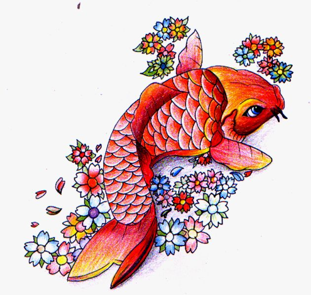 80 best ink tat images on pinterest tattoo ideas for Koi fish culture