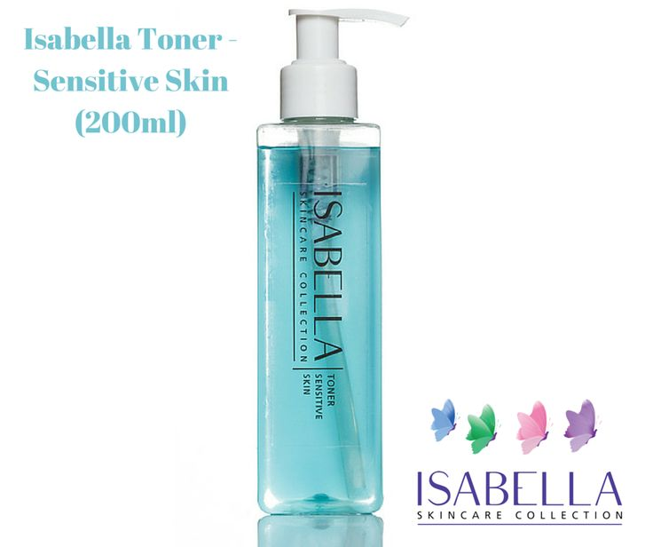 Isabella Toner - Sensitive Skin (200ml) Alcohol-free toner applied after cleansing. This refreshing Isabella toning Lotion is the next step in the cleansing process to maximize the benefits of your serum-facial oil and moisturiser. ‪#‎skincare‬ ‪#‎isabella‬ ‪#‎cleansingoil‬ ‪#‎daycream‬ ‪#‎toner‬ ‪#‎nightcream‬ www.crystalsprings.co.uk/onli…/isabella-toner-sensitive-skin