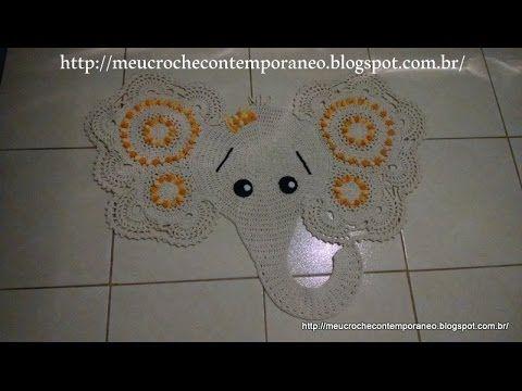 Tapete Elefantinha Graciosa 3ª parte (Elephant Rug, part 3)