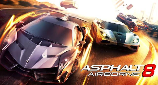 Asphalt 8 : Airbone MOD on SONY Xperia Z - AndroRat