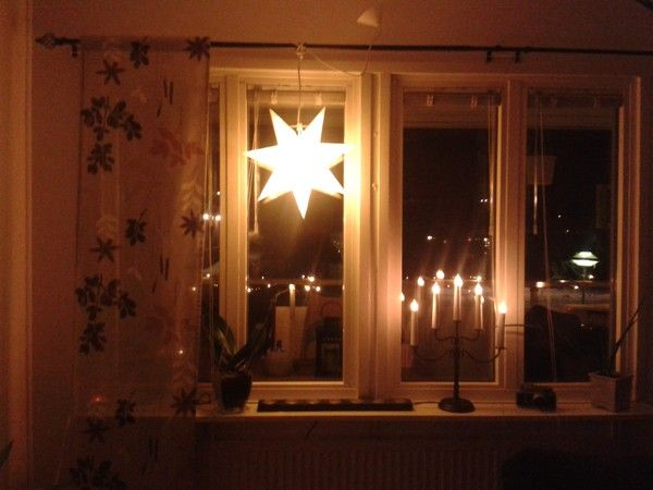 Our old apartment #livingroom #window #christmas #apartment