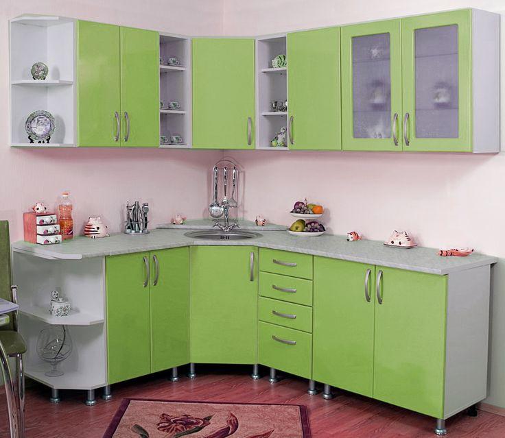 Недорогая угловая мебель для кухни Диско 12 зеленого цвета эконом класса в интернете для дачи, для офиса в Москве, в Железнодорожном, в Одинцово, в Подольске, в Пушкино.