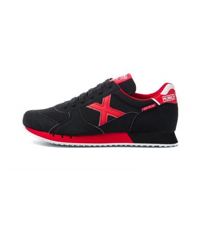 Zapatillas minich g-3 run de color rojo para hombre http://www