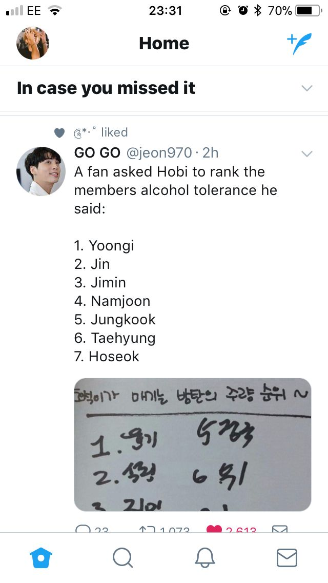 How can you seriously be worse than Taehyung when he is already afraid of being drunk with one single beer ?