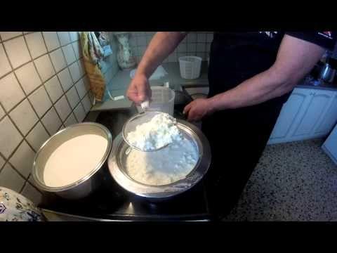 Φτιάχνω τυρί σε χρόνο ρεκόρ How to make cheese on a fast way - YouTube