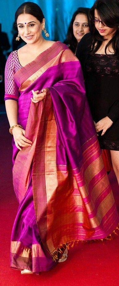 Vidyabalan in Silksaree