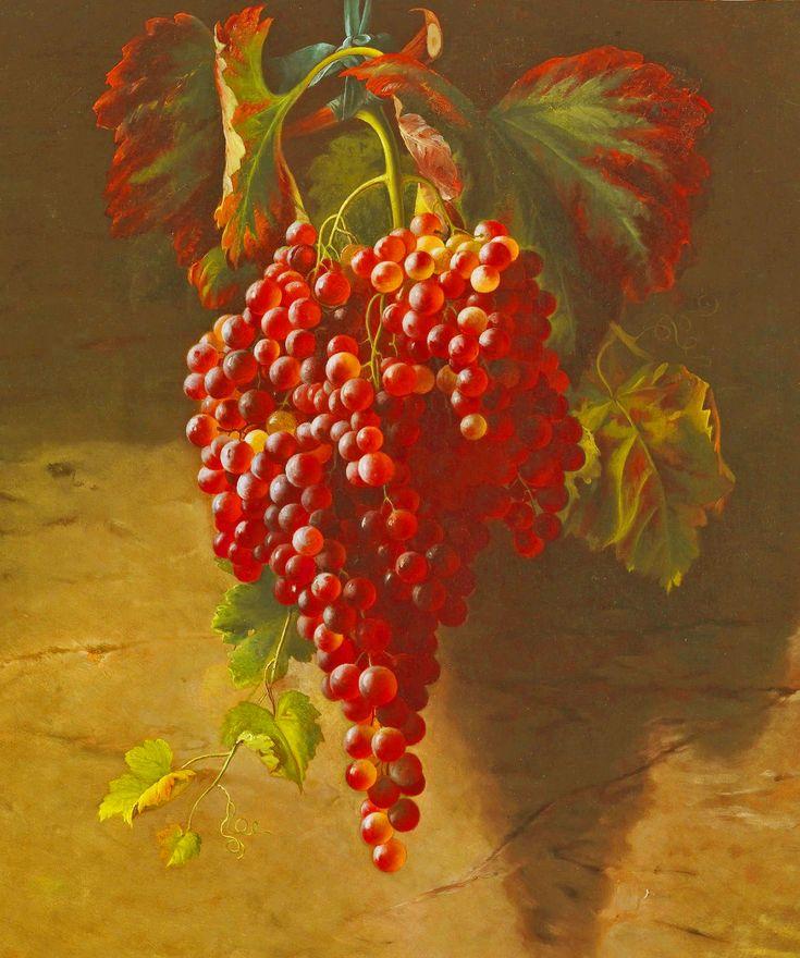 Andrew John Henry Weg (1826-1888) - Weinrebe