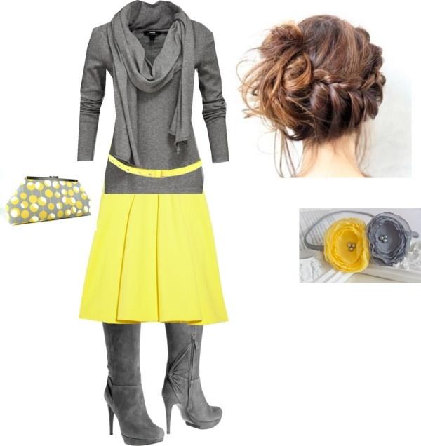 GreyYellow, ;)   My imaginary closet   Pinterest