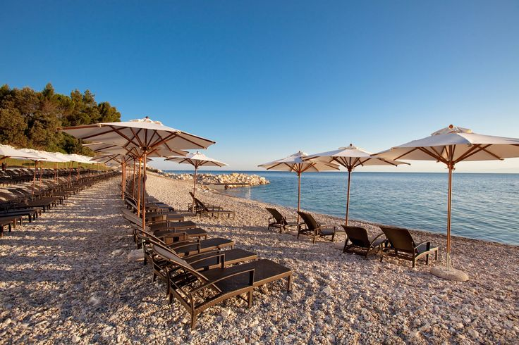 #3 - Umag, Croatia. Lounging on the beach for a honeymoon is nothing to sneeze at, but the newlyweds who want something different should try staying at one of these luxury hotels in an these unusual honeymoon locations. Pictured: The Kempinski Hotel Adriatic in Umag, Croatia