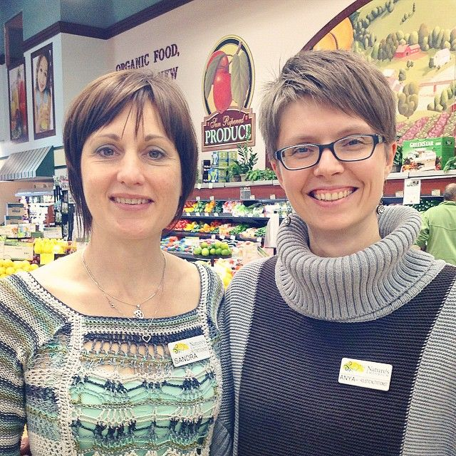 Sandra and Anya are happy to answer any #nutrition and supplement questions you may have. Come say hi to them today! #holistic #organic #supplements #health #ourpeople #naturesnewmarket #naturesemporium