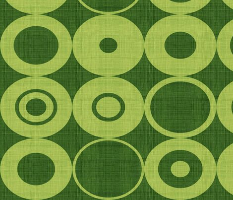 green orbs fabric by chicca_besso on Spoonflower - custom fabric
