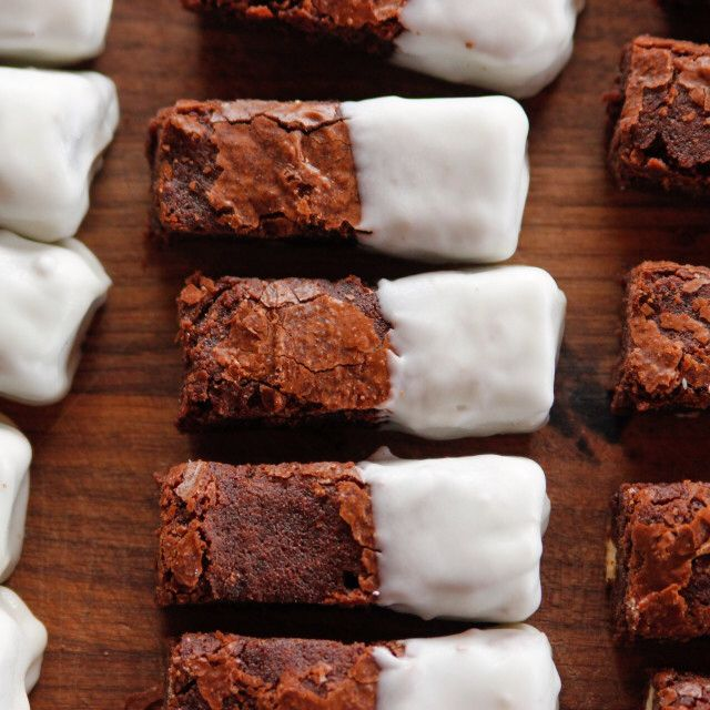 Black and White Brownies By Ree Drummond
