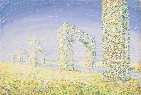 Le triomphe du mois de mai by René Magritte