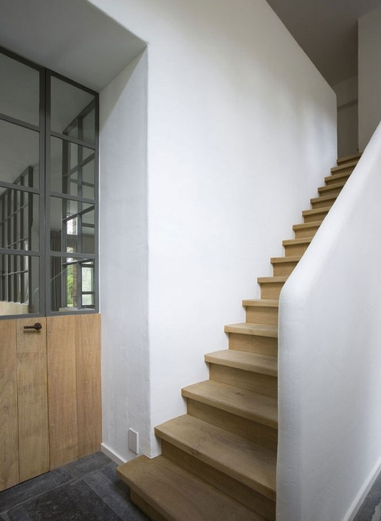 395 best escalier images on Pinterest Stairs, Interior stairs and - escalier interieur de villa