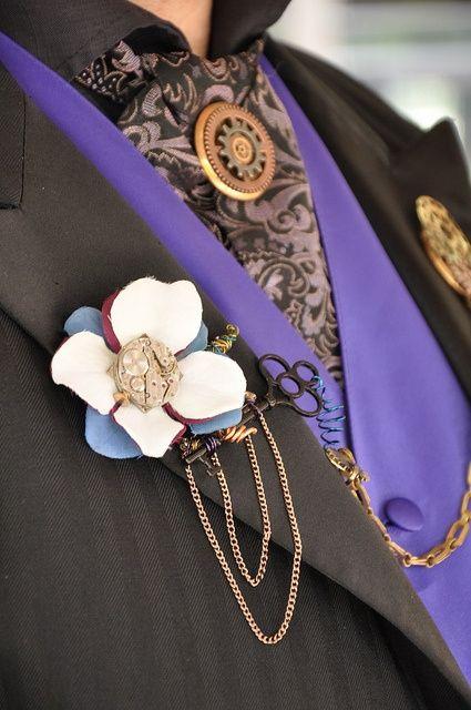 Inspiration Steampunk  Wedding photo 3444541-21