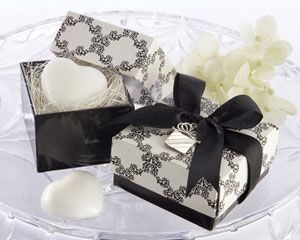 """""""Sweet Heart"""" Heart-Shaped Scented Soap with Kate Aspen Signature Charm"""