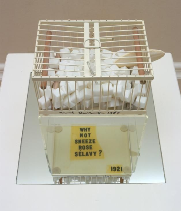 Marcel Duchamp, 'Why Not Sneeze Rose Sélavy?' 1921, replica 1964
