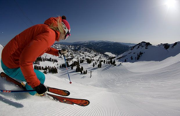The Best Winter Ski and Snowboard Destinations: Squaw Valley, North Shore, Lake Tahoe