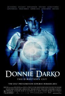 Donnie Darko is a 2001 American psychological thriller film written and directed by Richard Kelly and starring Jake Gyllenhaal