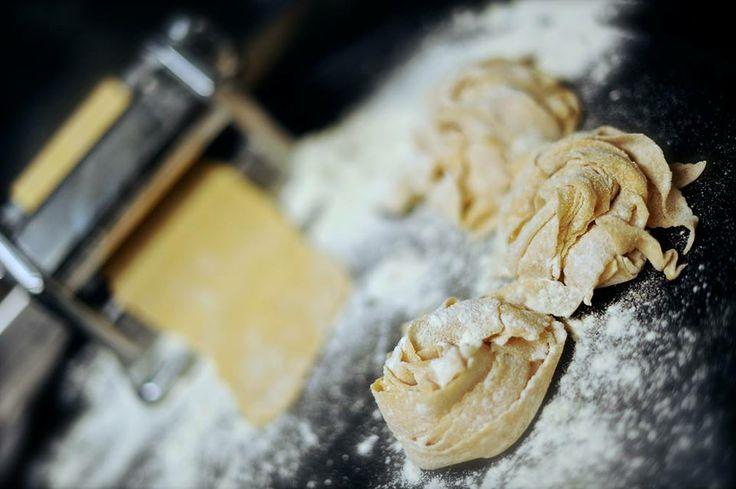Making papardelle  #papardelle #food #fresh #making
