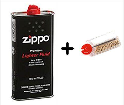 zippo fluid and flints