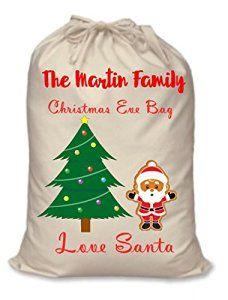 Christmas Eve Bag: Amazon.co.uk: Kitchen & Home