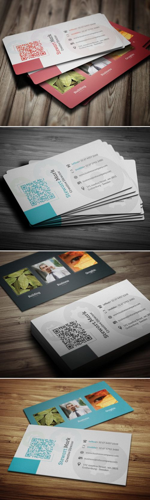 36 best Cool business cards images on Pinterest | Business cards ...