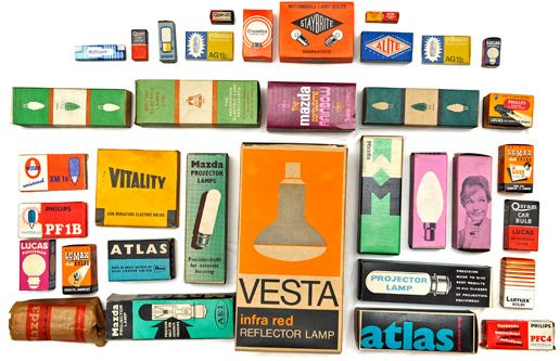 Maraid Design – Blog » Blog Archive » Vintage packaging light bulbs