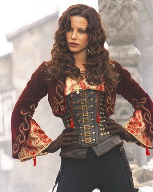 ((FC: Kate Beckinsale)) Aye, mateys. I be Captain Marie Smith. I am a fighter…