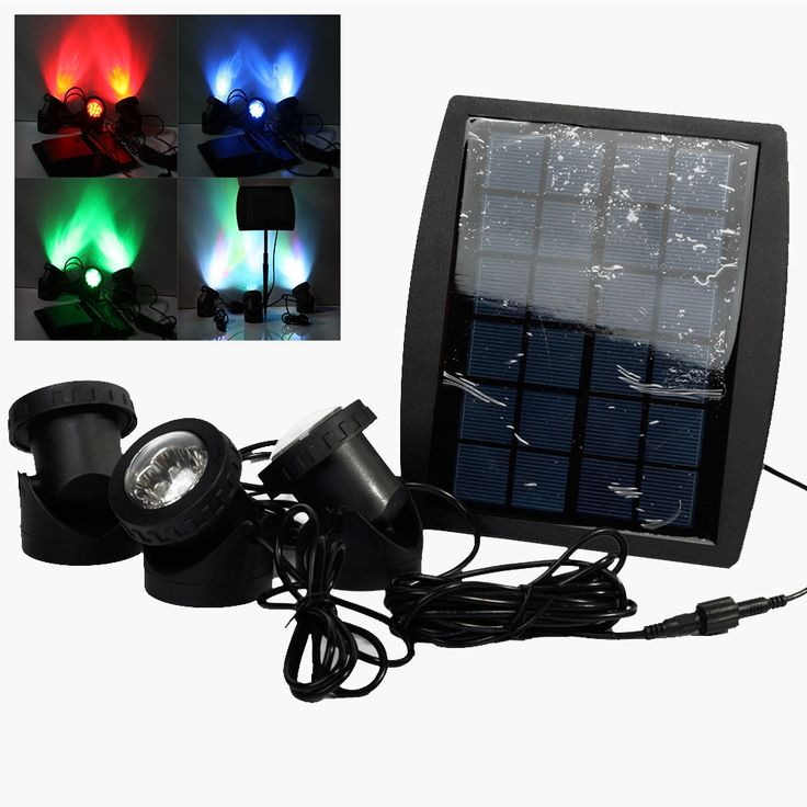 31.92$  Watch here - http://aijnu.worlditems.win/all/product.php?id=32624473991 - Portable LED Outdoor Solar Powered Spotlight RGB/Cold White Waterproof IP68 Led Landscape Light Solar Garden Lamp