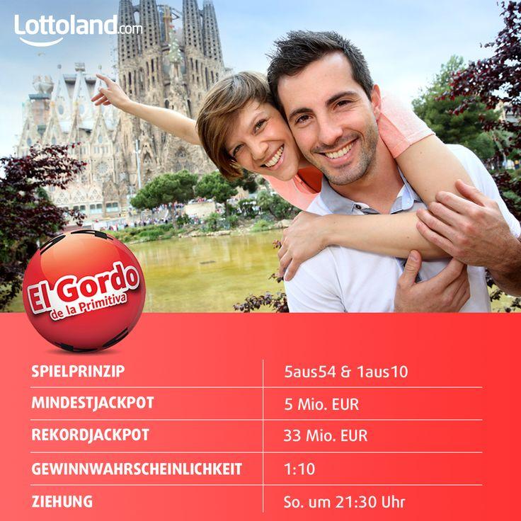 El Gordo de la Primitiva - mit Gewinnchancen von 1:10 alles andere al primitiv! #Lotto #Jackpot #ElGordo #LaPrimitiva