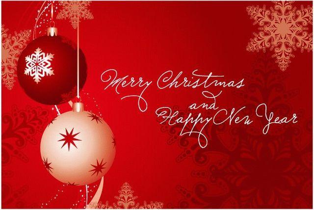 Поздравление с рождество и новым годом на английском