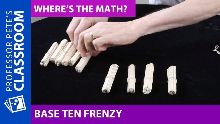 Where's the Math #16 for Grade 2: Place Value Problem Using Bundling Sticks