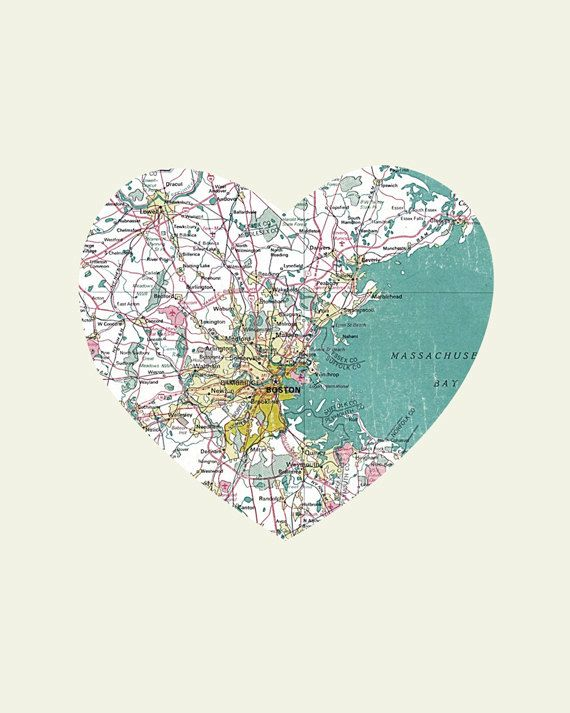 Everything Lovely.Prayer, Wood Block, Maps, Art Prints, My Heart, Boston Strong, Travel, Places, Crafts