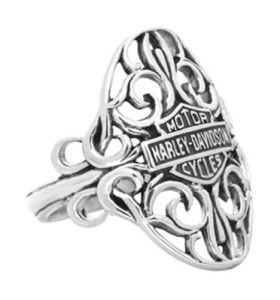 Mens and Womens Harley Davidson Rings -