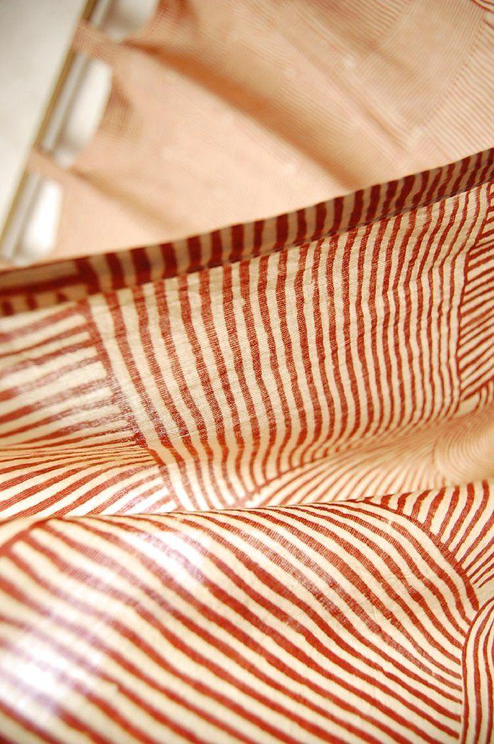 【楽天市場】インド 木版染め(ブロックプリント)コットンボイルカーテン(ループ付) 【アジアン】【トライバル】【2016】【プレゼント】【YDKG-f】【エスニック】【インテリア】【コットン】【ネコポスOK】【ご奉仕品SC】:アジアの布・雑貨 ウィージャ