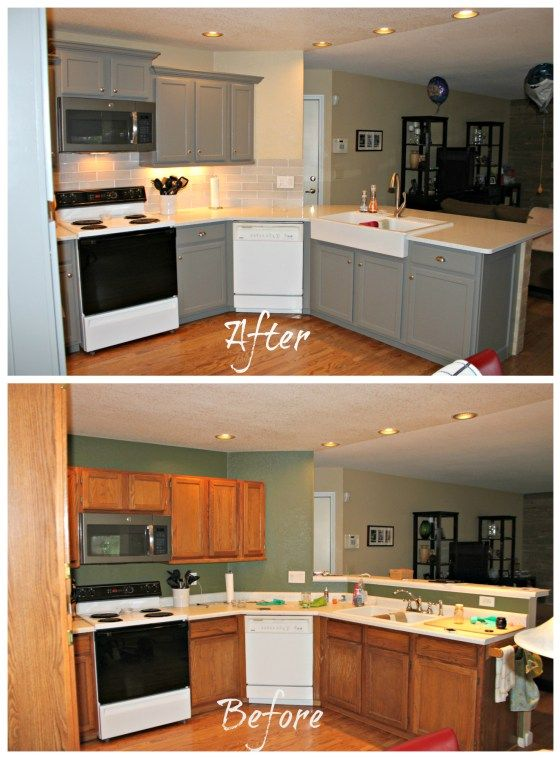 Painted Cabinets best 25+ painted oak cabinets ideas only on pinterest | painting