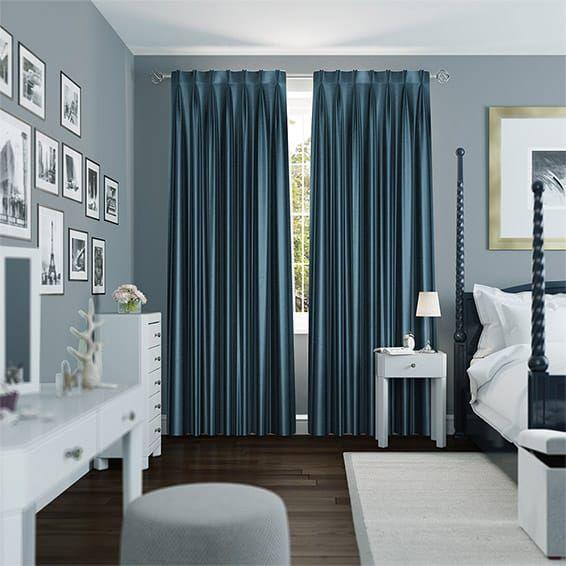 Die besten 25+ Teal flat curtains Ideen auf Pinterest Graue und - vorh nge im schlafzimmer