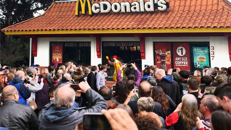 Nation Rallies Around Ronald McDonald Statue That Embodies Country's True Heritage