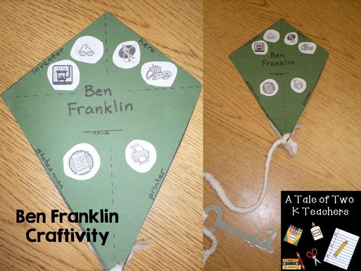Ben Franklin Kite Craftivity