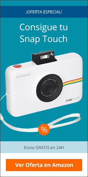 Comprar la cámara Polaroid Snap Touch
