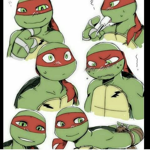 imágenes KAWAII de tortugas ninjas ..... YAOI !!!!❤ #detodo # De Todo # amreading # books # wattpad