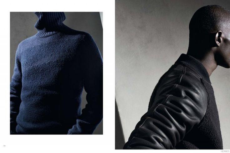 Le Monde DHermès Celebrates Fall 2014 Tailoring + Luxe Details