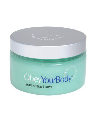 Obey Your Body Original Dead Sea Exfoliating Body Salt Scrub Kiwi Fragrance 300ml - http://best-anti-aging-products.co.uk/product/obey-your-body-original-dead-sea-exfoliating-body-salt-scrub-kiwi-fragrance-300ml/