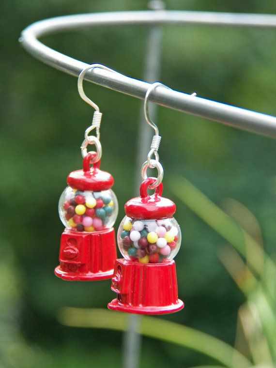 When I found these charms, the kid in me said grab them and make some fun earrings. Simple and fun. Here they are! They hang to the length of 1 3/4