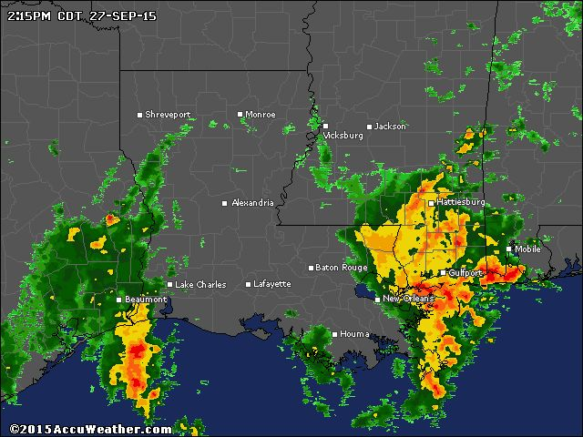 Louisiana Weather Radar Map - AccuWeather.com
