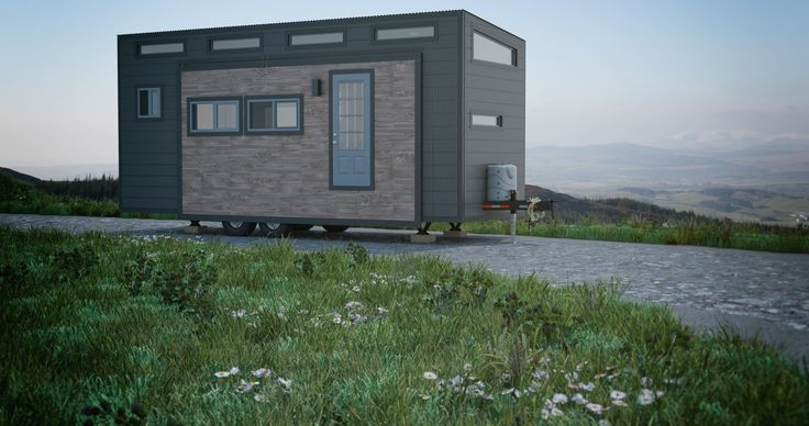 ZeroSquared tiny homes use environmentally-friendly structural insulated building panels composed of prefabricated polyurethane foam insulation.