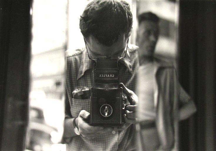 self portrait.. Saul Leiter